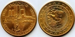 1968 Illinois Sesquicentennial Medal Rail Splitter/Train Variety - Bronze