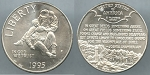 1995-P Civil War Battlefield Commemorative Silver Dollar - Uncirculated