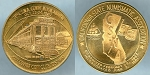 Medal 1982 / 71st. C.S.N.A. Convention Anaheim / California State Numismatic Assoc. Mint