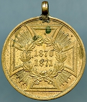 German Empire, Franco-Prussian War Campaign Medal 1870 - 1871