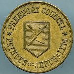 Freeport Council Masonic Token