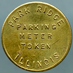 Park Ridge Illinois Parking Meter Token - One Hour
