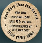 Wooden Nickel Telco Credit Union