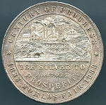 1933 World's Fair Colorado Century of Progress 1 oz. Silver TYPE IV