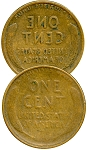 Double-Sided Wheat Cent - Tails