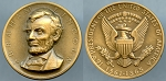 Medal Abraham Lincoln / 16th. President of the United States of American 1861-1865 Mint State