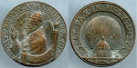 Medal Pope Pius XII 1939-1958 PIVS XII PONT MAX AN IVB MCML / Basilica di S. Pietro, globe XF