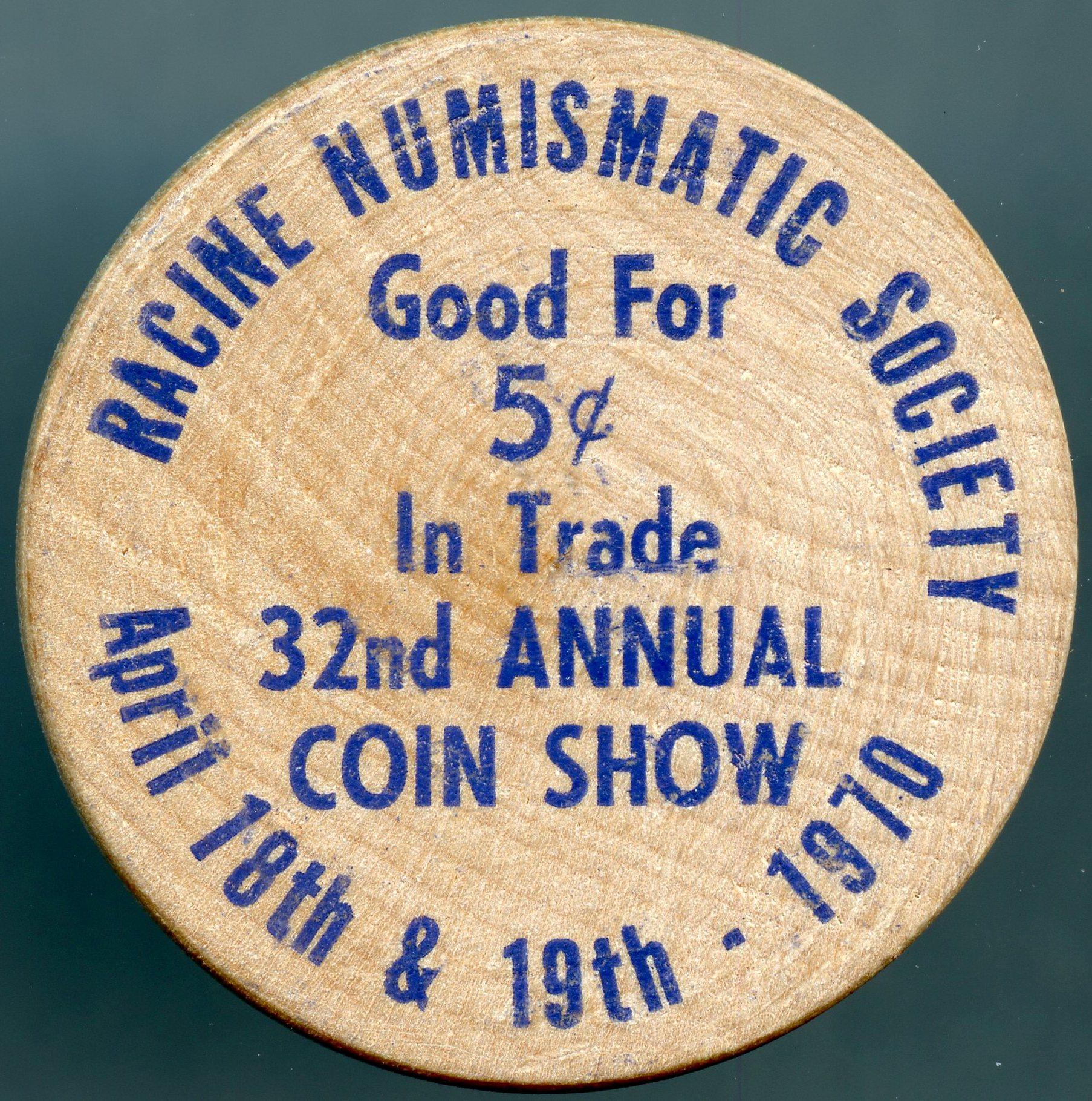 racine coin show