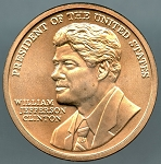 William J. Clinton (First Term) U.S. Mint Bronze Medal