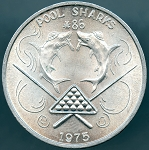 Pool Sharks #86 1975 Mardi Gras Doubloon