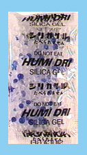 Silica Gel 10 Gram Indicator Packet