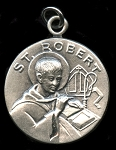 Saint Gregory Religious Pendant Sterling Silver
