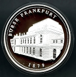 1200 Year Anniversary of Frankfurt am Main Silver Medal - Burse Frankfurt