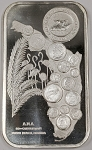 American Numismatic Association 83rd Convention Florida One Ounce .999 Fine Silver Bar