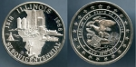 Illinois Sesquicentennial Medal. 1818-1968 1 oz. .999 Fine Silver