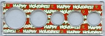 Snap Together Coin Holder Happy Holidays - 5 Coin