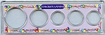 Snap Together Coin Holder Congratulations - 5 Coin