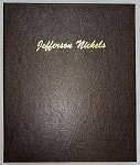 Dansco Album 7113: Jefferson Nickels 1938-1964 2 Page preowned