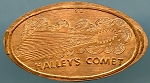 Halley's Comet Elongated Cent