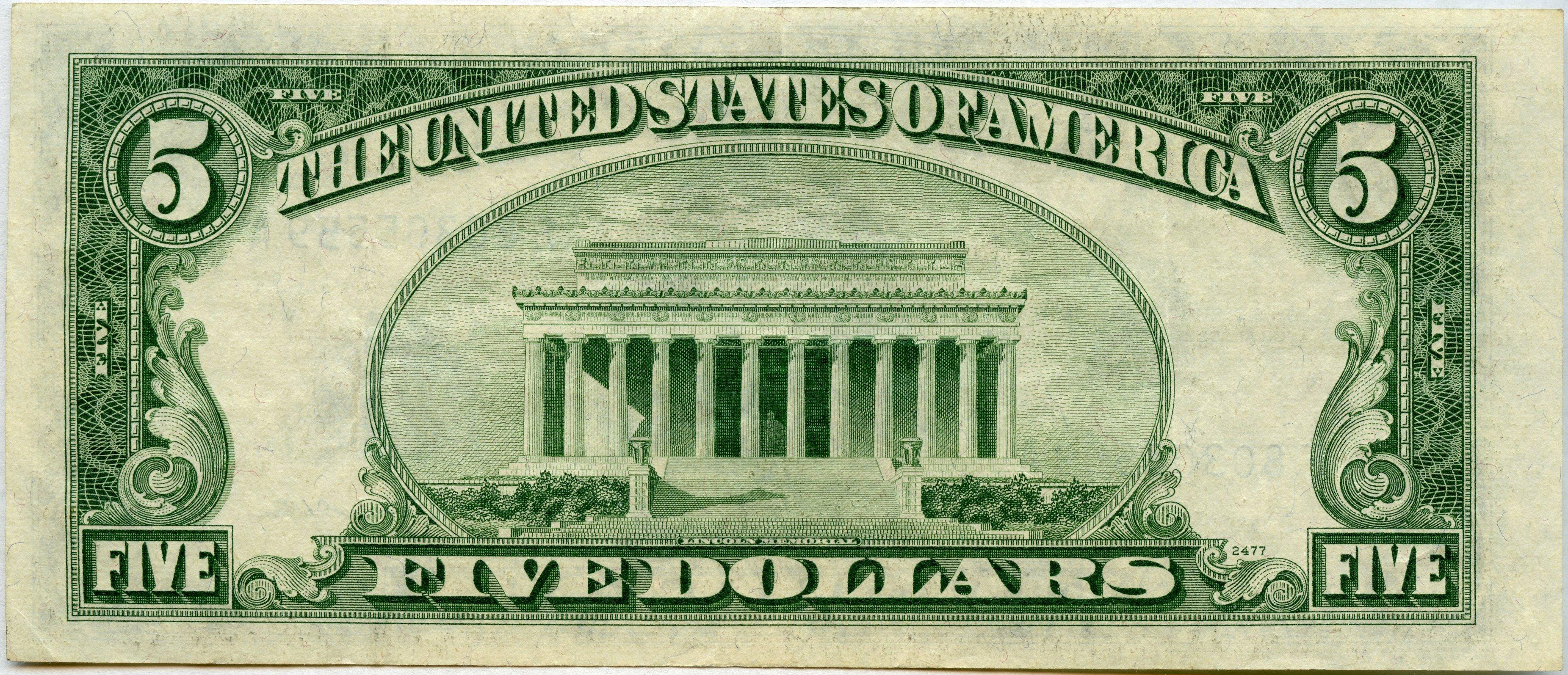 500 Silver Certificate Series 1934 B F80305559a F1657 Xf