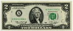 1976 United States Two Dollar Federal Reserve Note F1935-A Choice CU