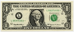 1999 $1.00 Federal Reserve Note L05374403* F1925F Star Note ChCU