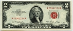 $2.00 U.S. Note (Legal Tender) A05952100A, F1509, CHCU