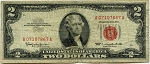 USC-$2.00 U.S. Note (Legal Tender) 1963 - A07107867A, F1513, VG