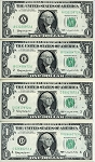 $1.00 Federal Reserve Note 1963 12 Note District Set A - L, F1900-Set, ChCU
