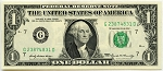 $1.00 Federal Reserve Note 1969 - G23874831D, F1903G, ChAU