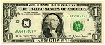 $1.00 Federal Reserve Note Series 1977-A - J06737607* - Star Note, F1910-J*, CHCU