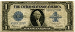$1.00 Silver Certificate Series 1923 - X88842379D, F237, Very Good
