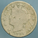 1886 Liberty Nickel Good -