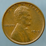 1915 Lincoln Cent XF-40