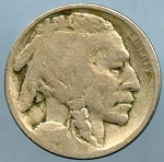 1913 D T2 Buffalo Nickel Very Good