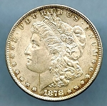 1878 7 TF Morgan Dollar Choice B.U. MS-63 Rev of 1878