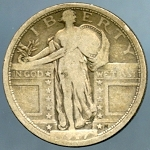 1917 T1 Standing Quarter Very Good