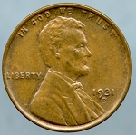 1931 D Lincoln Cent MS-60 Brown