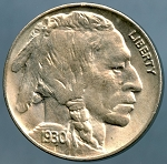1930 Buffalo Nickel Choice MS-64
