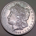 1882 Morgan Dollar Choice B.U. MS-64