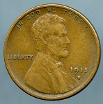 1915 S Lincoln Cent XF-40