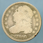 1836 Bust Dime Good/Very Good