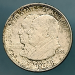1923 S Monroe Doctrine Half Dollar XF details cleaned