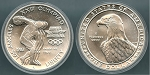 1983-P Uncirculated Olympic Commemorative Silver Dollar - In Capsule Only - Mint State