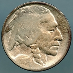 1913 D TY 1 Buffalo Nickel VF details cleaned