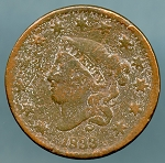 1833 Large Cent Cull