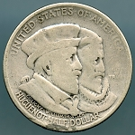1924 Huguenot Commemorative Half Pocket Piece