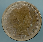 1899 Barber Quarter CULL