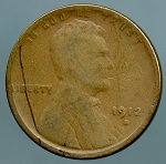 1912 S Lincoln Cent CULL