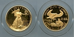 1989 $10.00 1/4 oz. Gold American Eagle Proof
